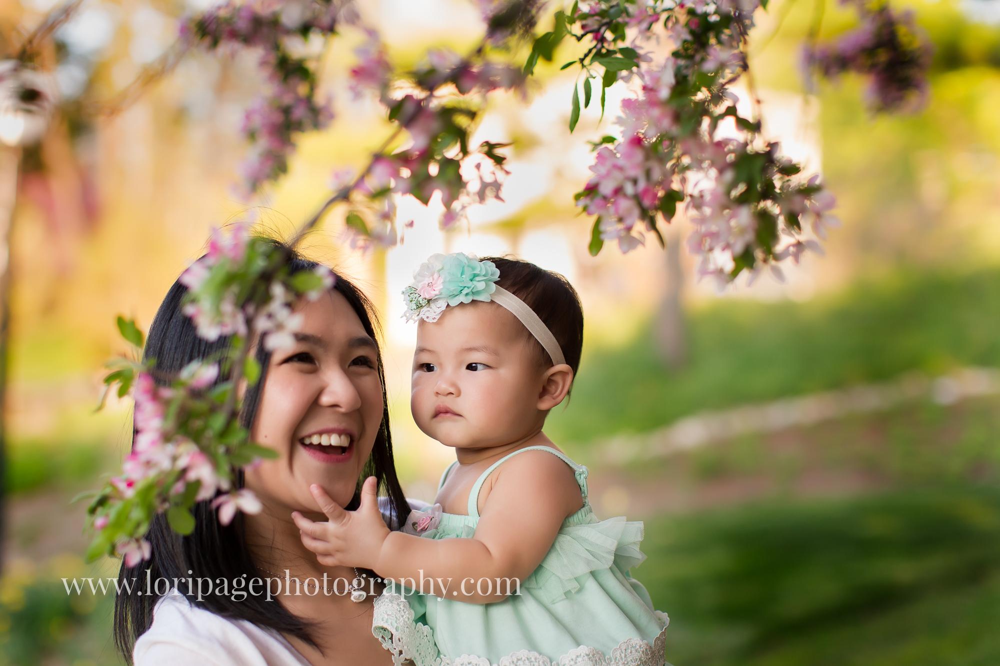 Ann Arbor outdoor baby photographer