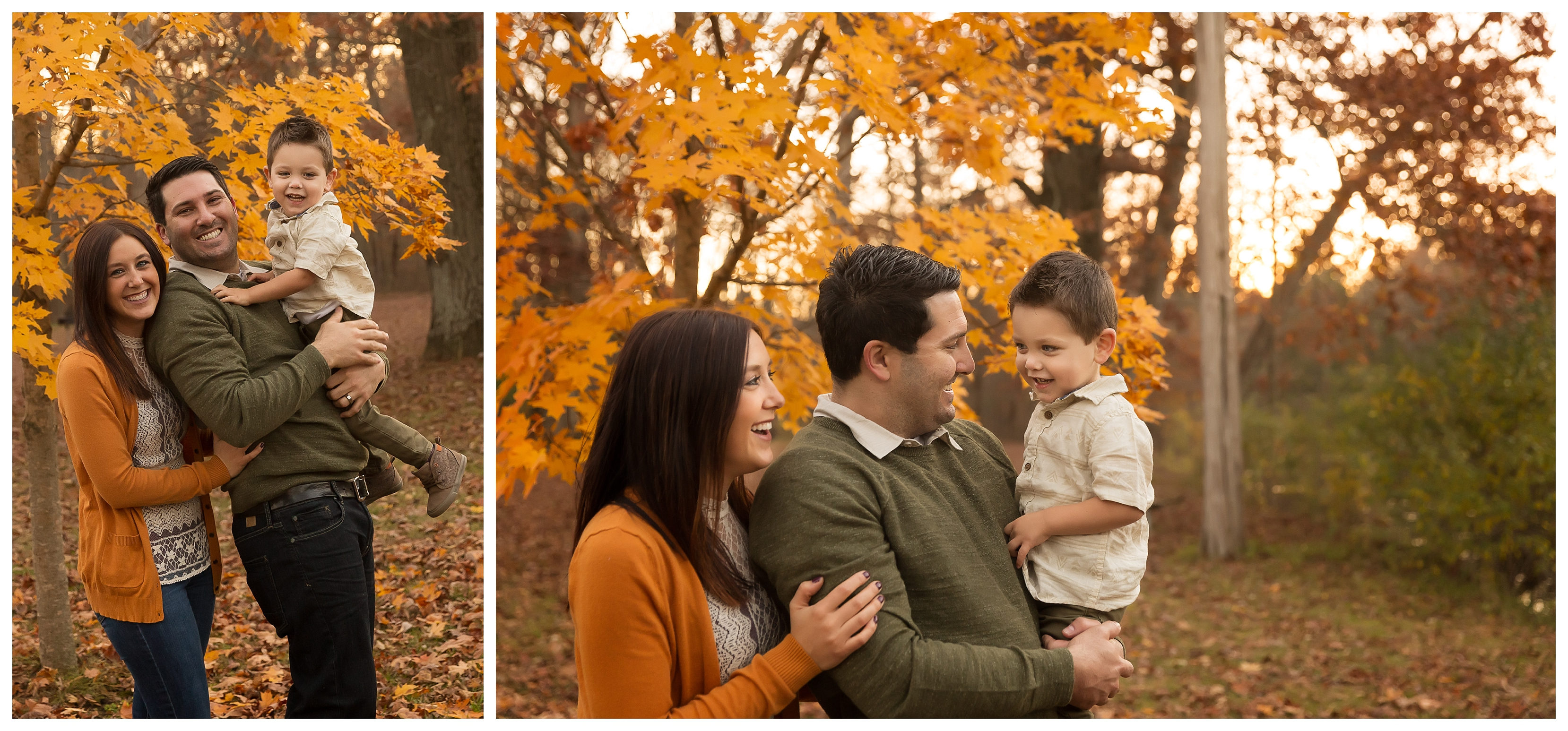 Their Last Fall in Michigan | Ann Arbor Artistic Family Photographer