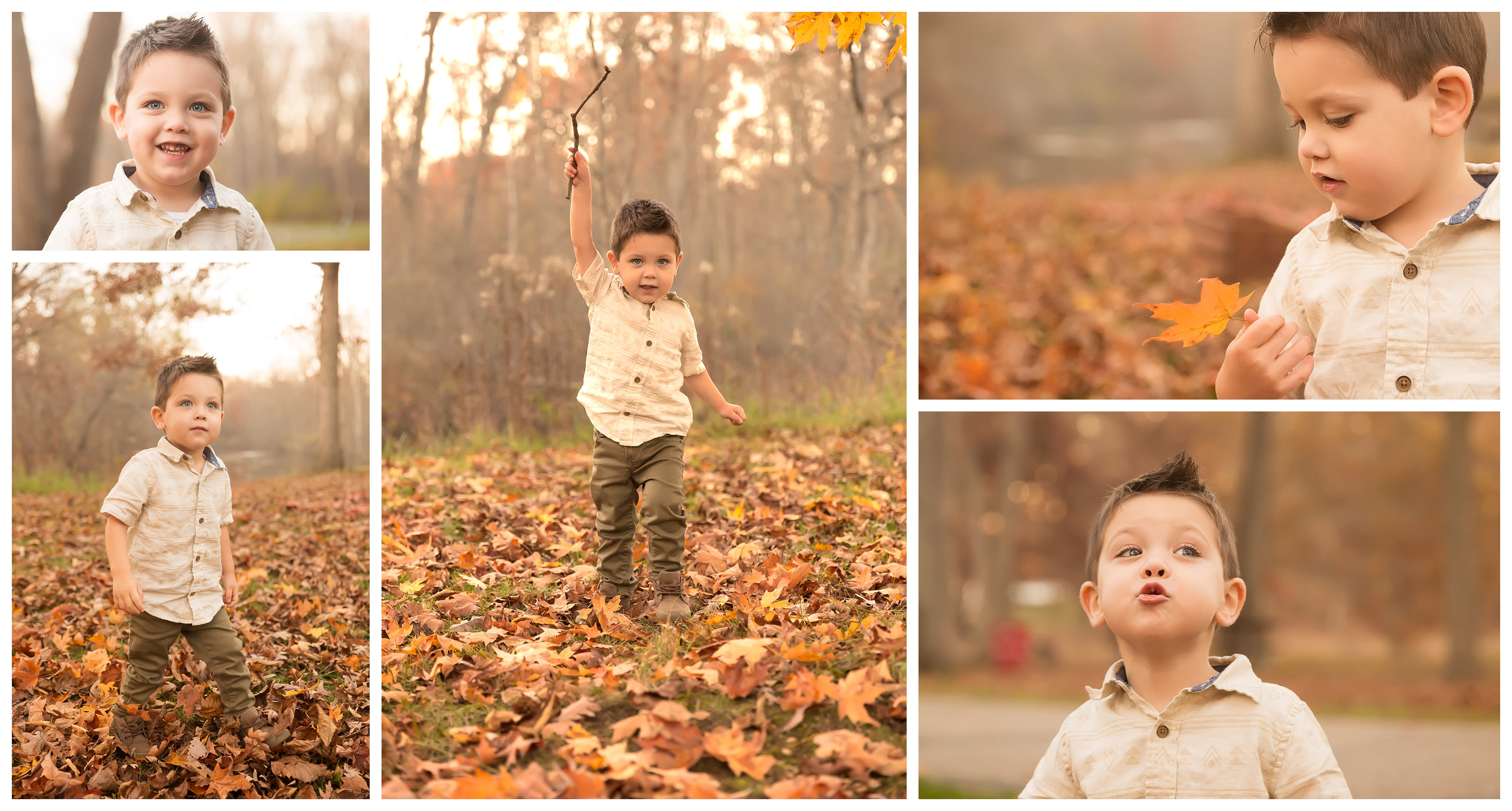 Their Last Fall in Michigan | Ann Arbor Artistic Family Photographer