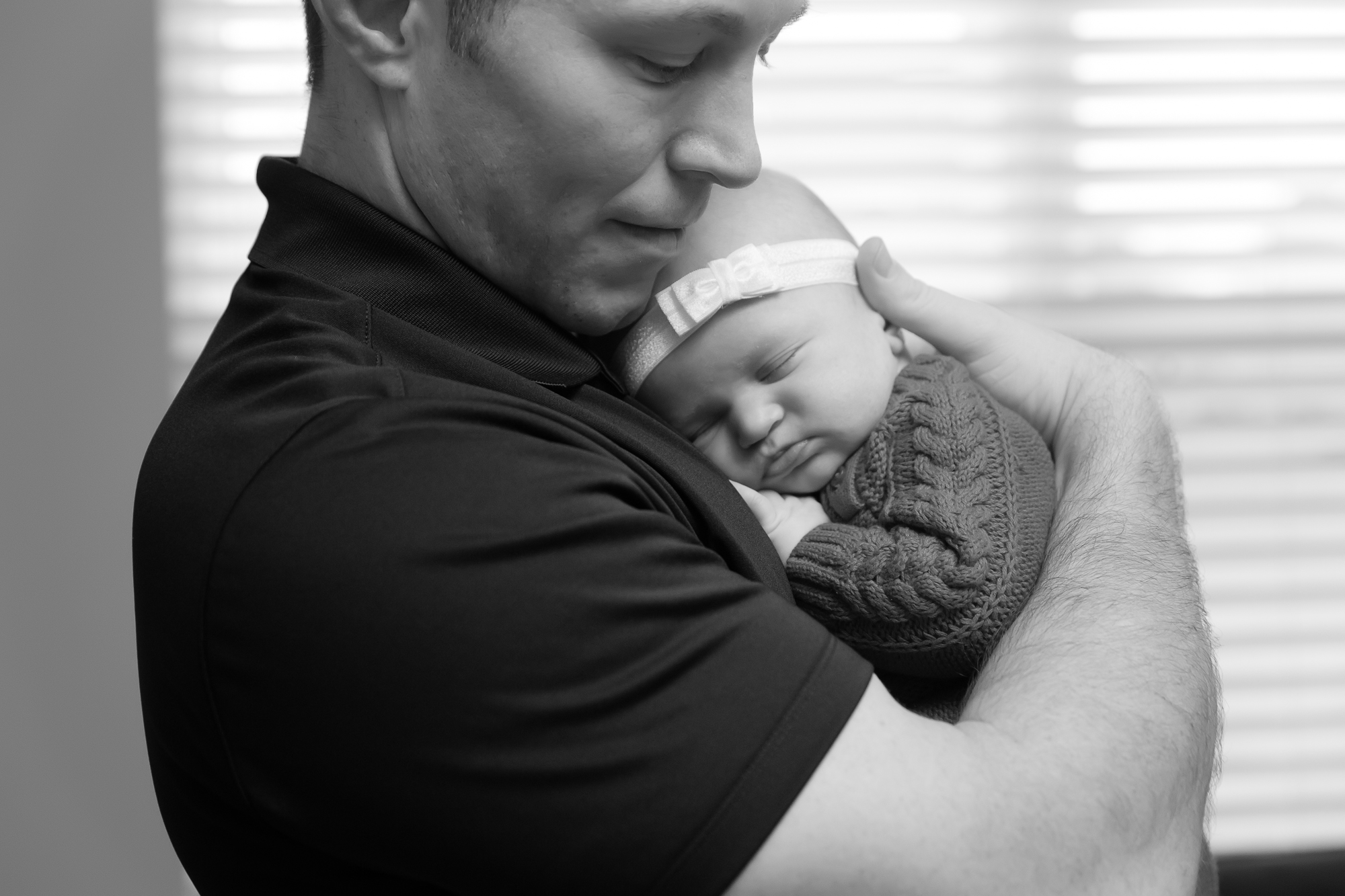 A Sweet Baby Sister | Dexter, Mi Newborn Photographer