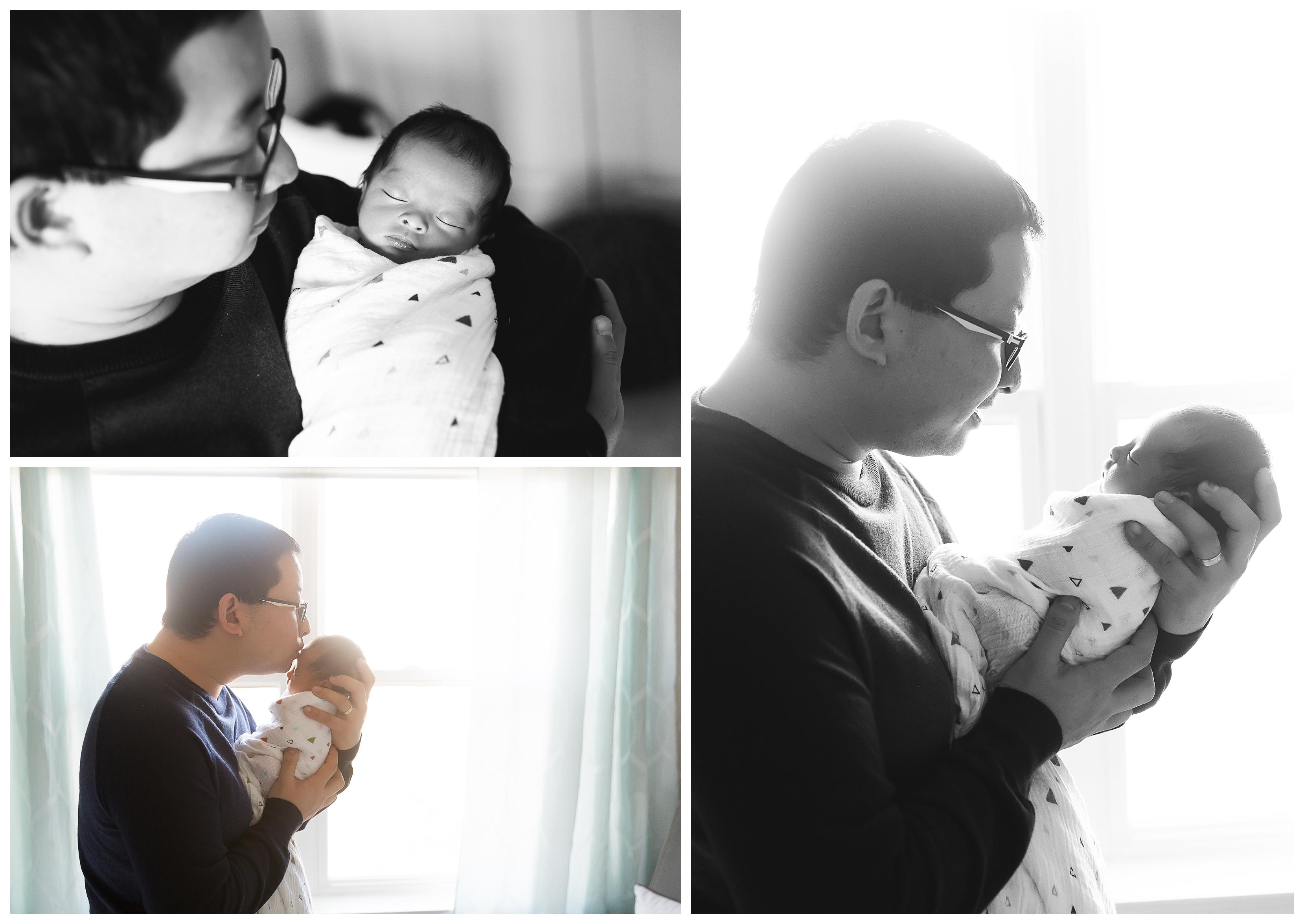 Adorable Little Man | Ann Arbor Newborn Photographer