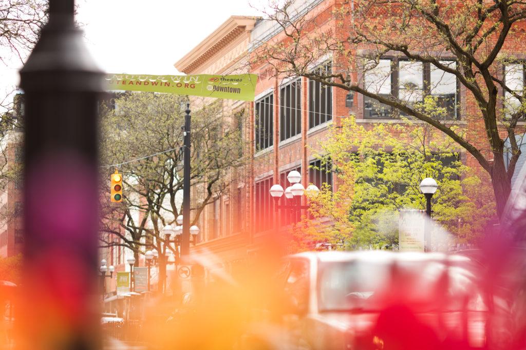 Downtown Ann Arbor Main Street © Lori Page Photography