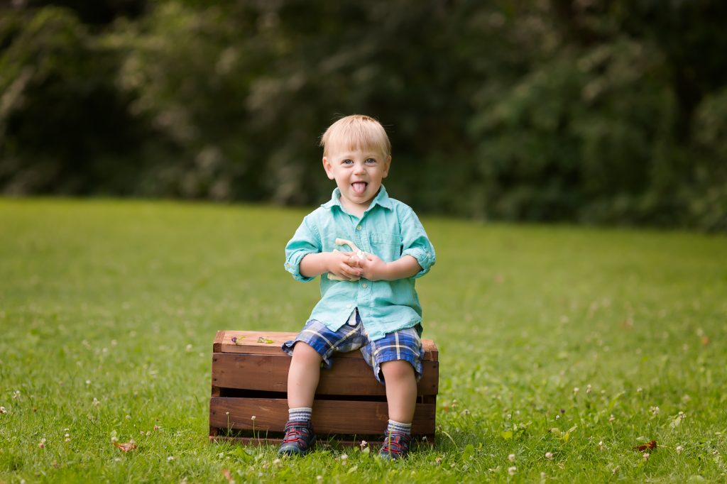 Ann Arbor Outdoor Family Photos | This guy turned two!