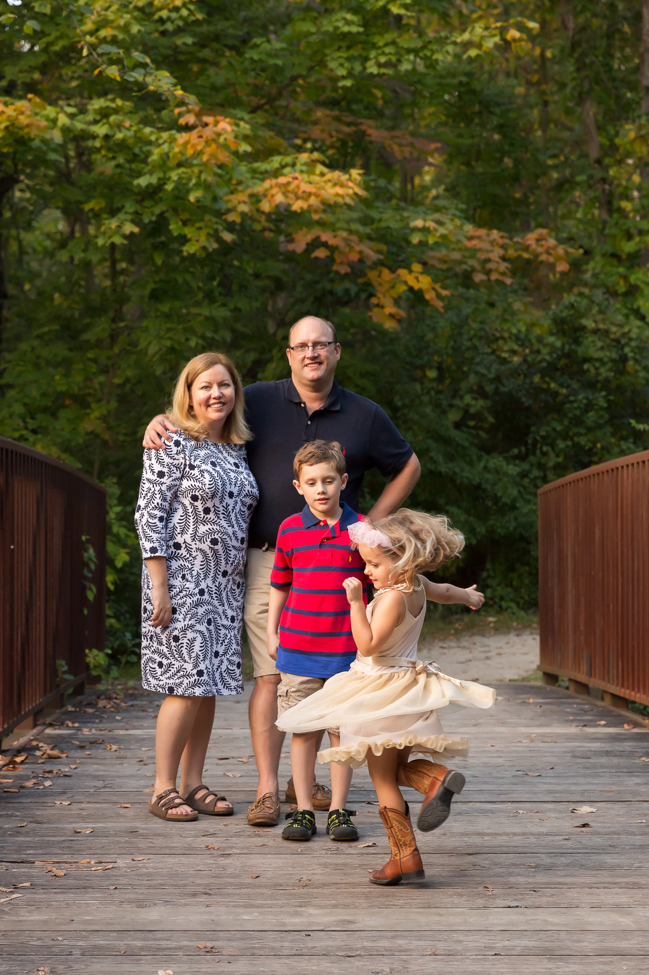 Ann Arbor Photographer | Family of Four