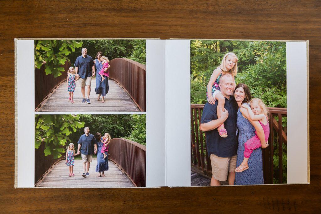 Ann Arbor Portrait Photographer | Gorgeous Family Albums
