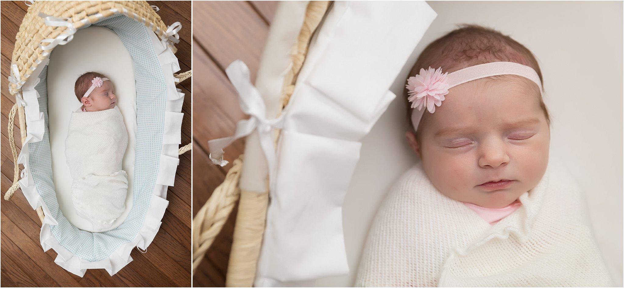 Ann Arbor Newborn Photographer | Pretty in Pink