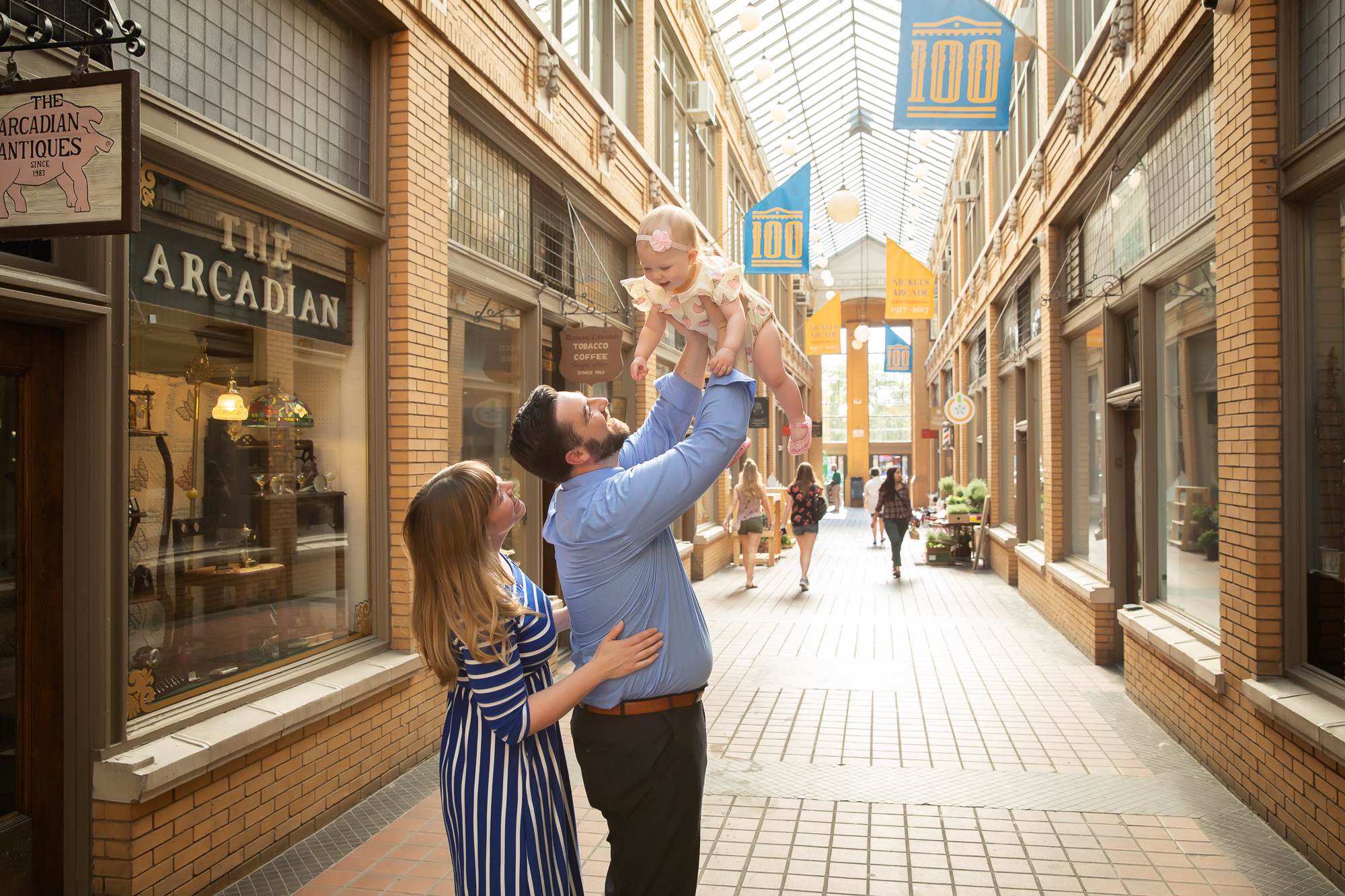 Downtown Family Photos | Ann Arbor Family Photographer