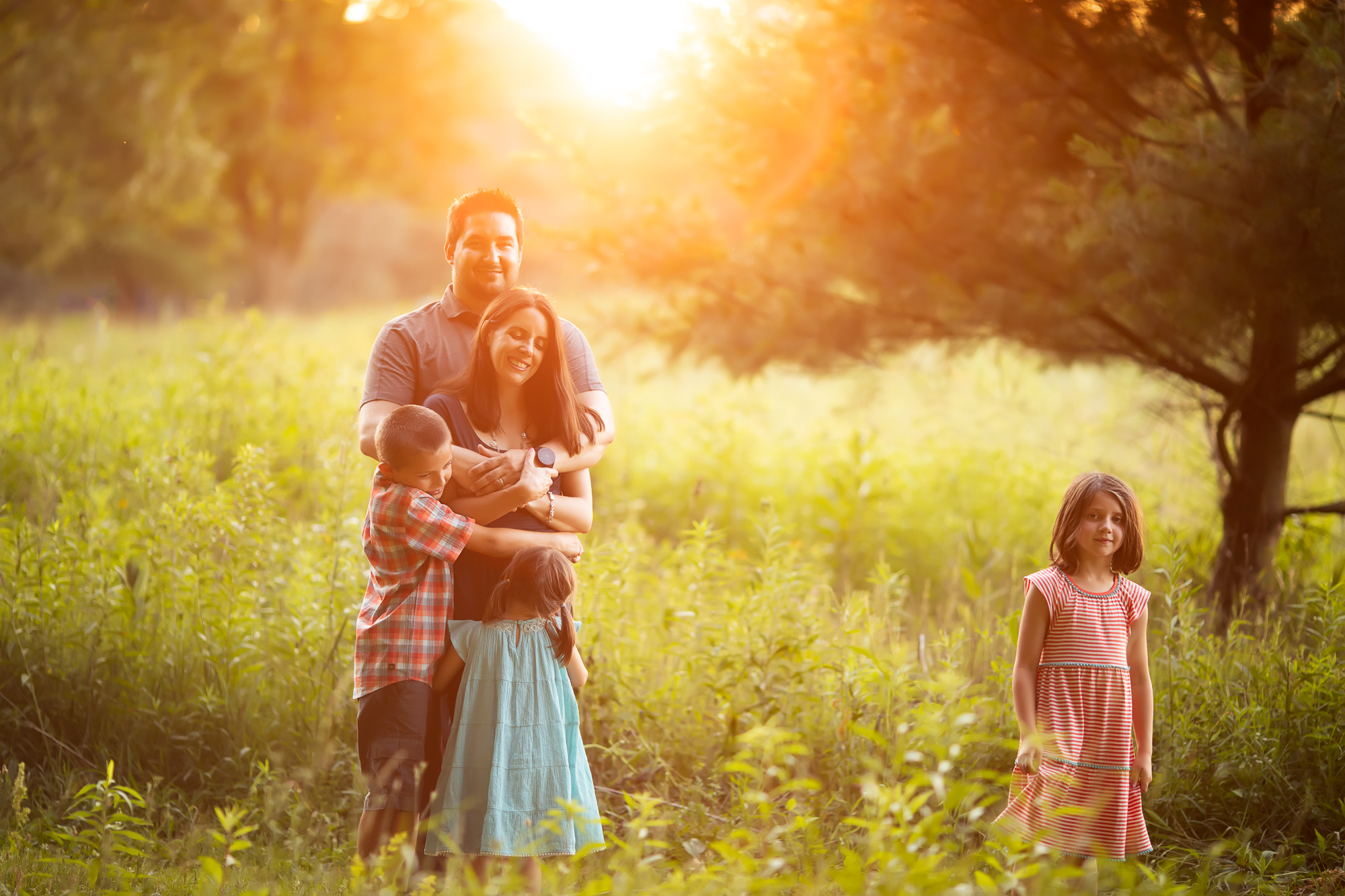 Summer Family Session in Ann Arbor