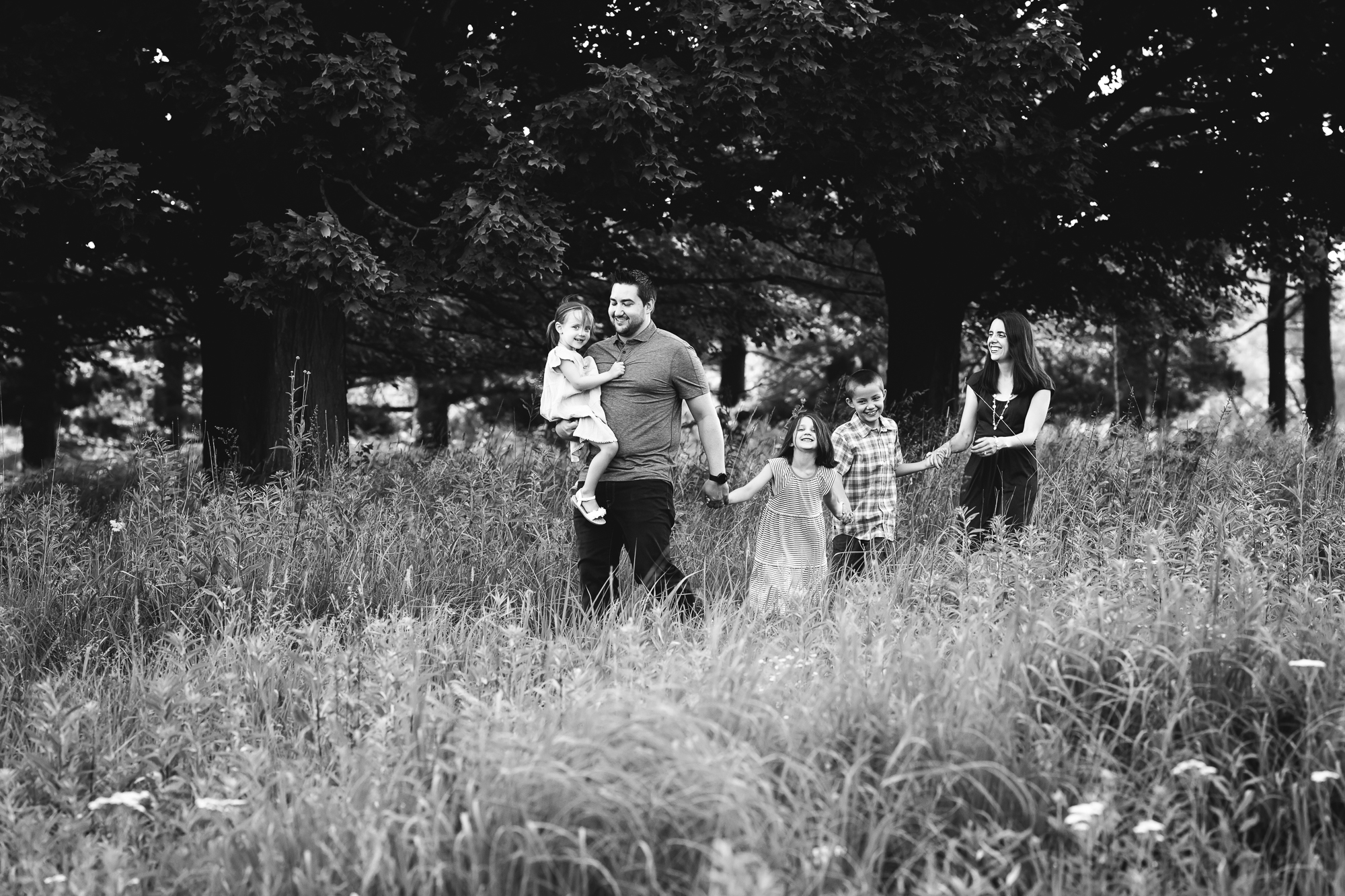 Summer Family Photos in Ann Arbor