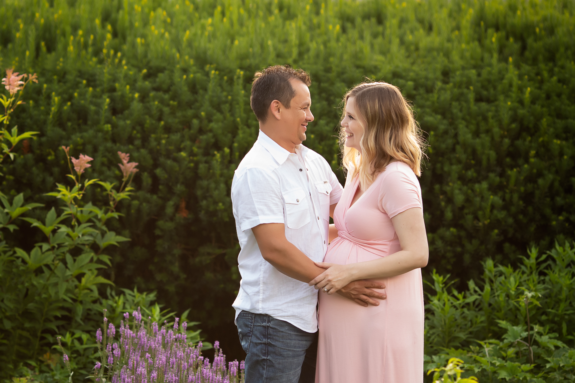 Matthaei Botanical Gardens Maternity Session