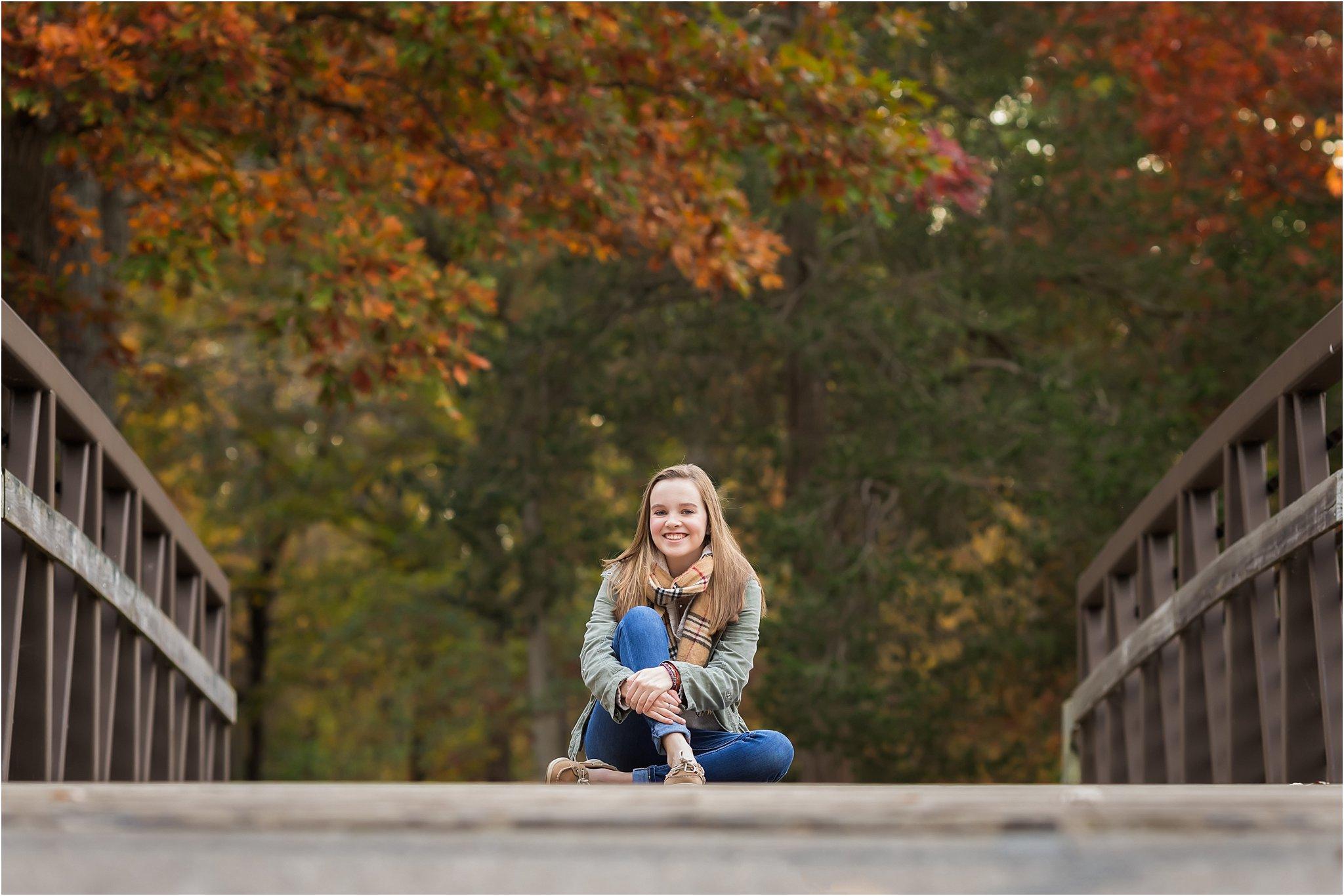 Senior Girl Fall Photos | Saline High School