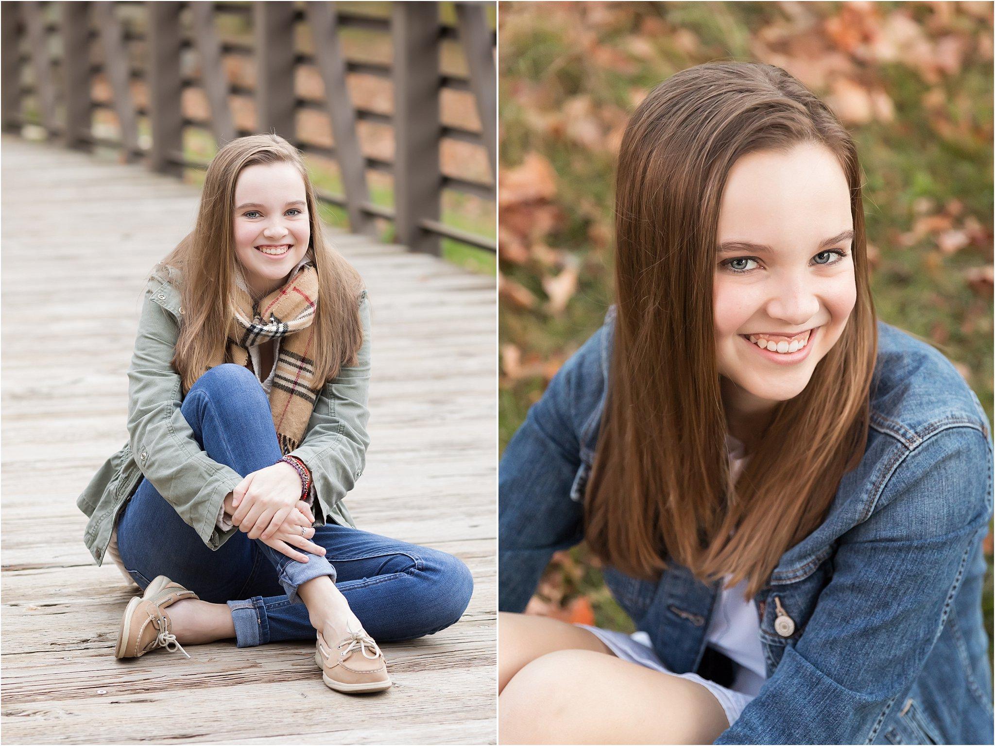 Senior Girl Fall Photos   Saline High School