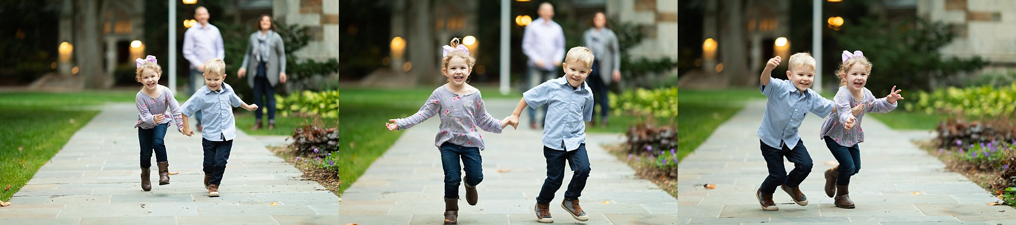 Family Photos at The Law Quad | Ann Arbor Photographer