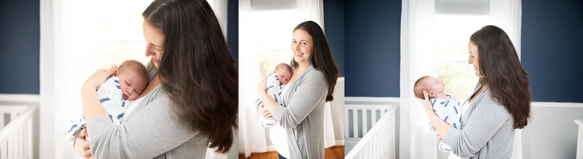 Saline, Mi Newborn Photographer   Adorable Baby Boy