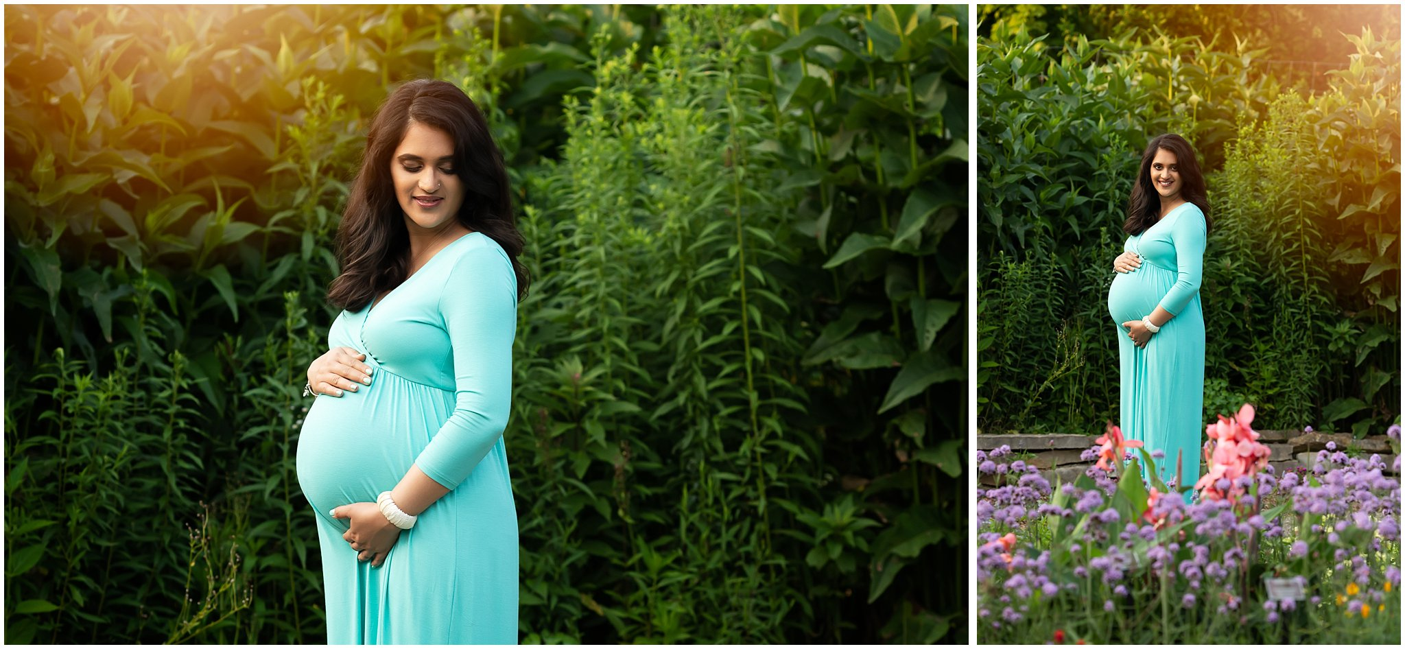 Maternity Photos at Matthaei | Ann Arbor Maternity Photographer