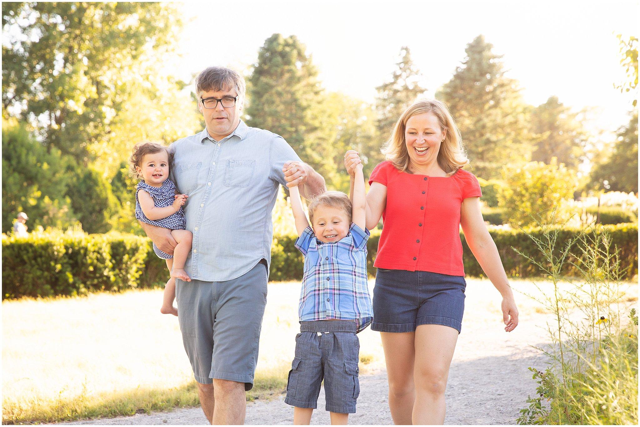 Ann Arbor Family Photographer   Summer Photos at Matthaei