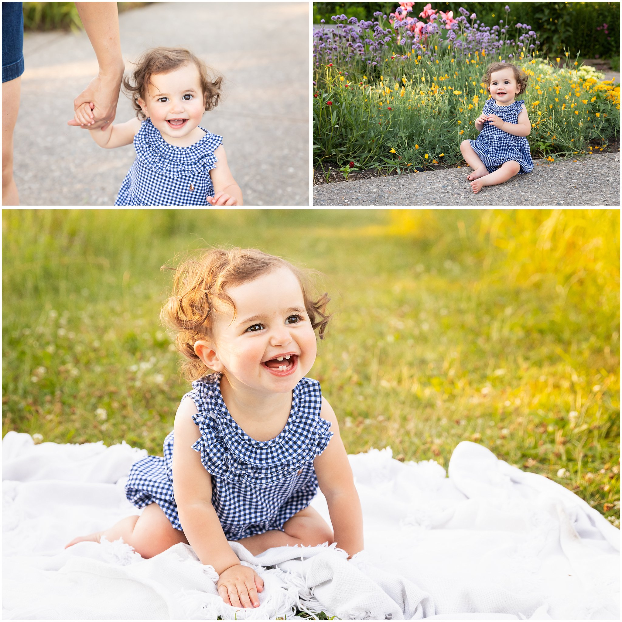 Ann Arbor Family Photographer | Summer Photos at Matthaei