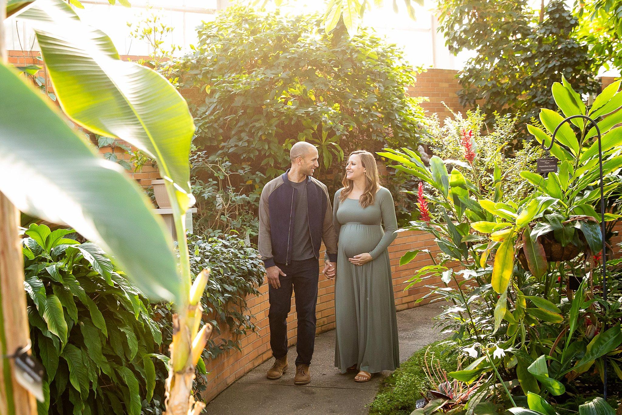 Matthaei Botanical Gardens Maternity Photos