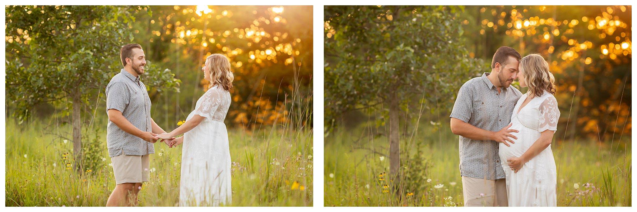 Summer Maternity Session | Ann Arbor Family Photographer