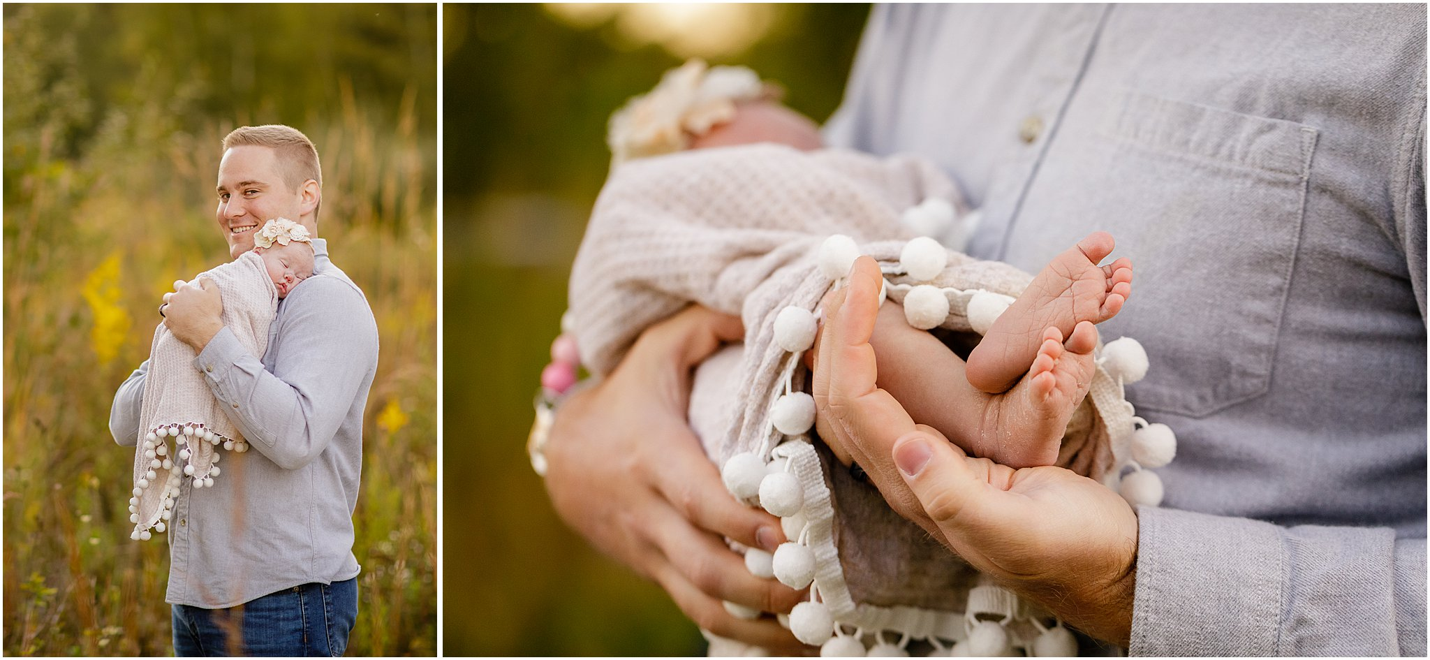 Ann Arbor Outdoor Newborn Photographer | Dexter, Mi