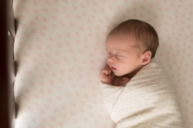 sweet baby girl Ann Arbor newborn photographer